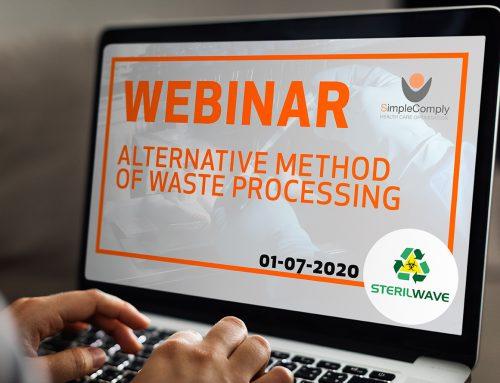 Webinar: Alternatieve methode van afvalwerking