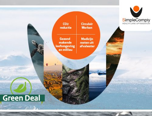SimpleComply is nu officieel partner van de Green Deal Duurzame Zorg.